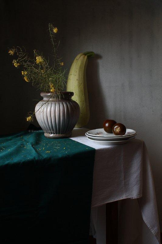 натюрморт, кабачок, осень С кабачкомphoto preview