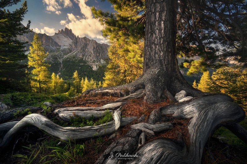 dolomites, dolomiti, mountains, itally, sunset, clours, contrast, summer, mountainscape Rootsphoto preview