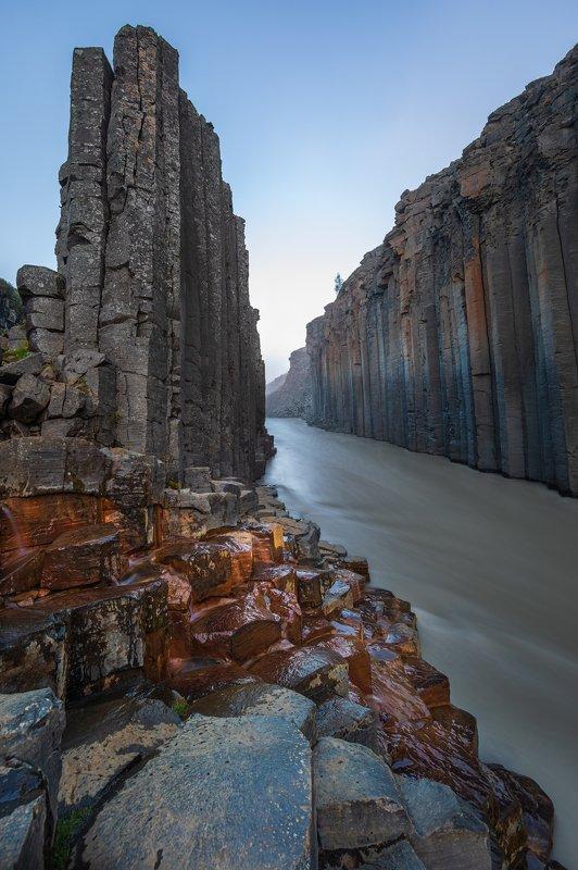 Stuðlagil Canyonphoto preview