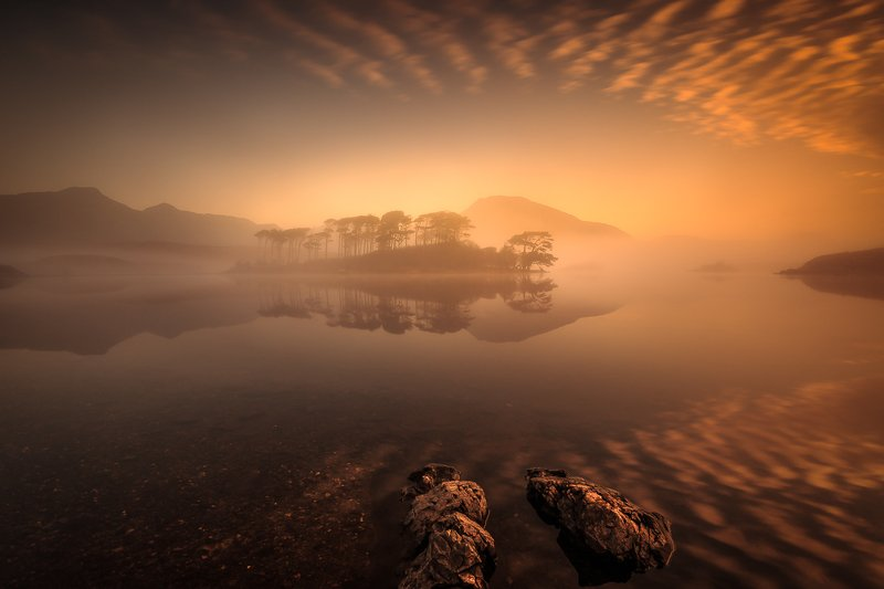 longexposure, long exposure, sunrise, Ireland, landscapes, fog, clouds Pine Islandphoto preview
