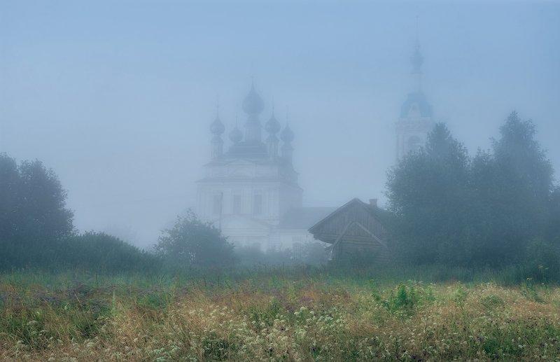 савинское, пейзаж, храм, природа,утро Летним утромphoto preview