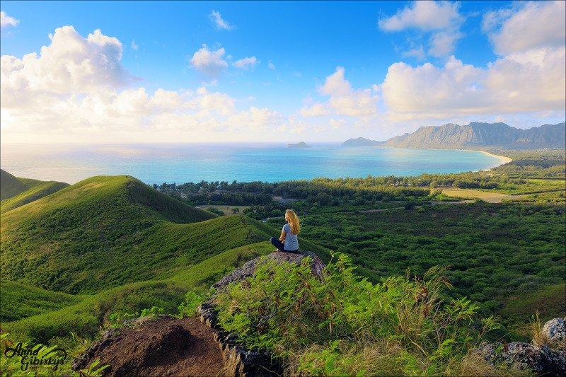гавайи, оаху, остров, фототур, пшишылны, океан Встречая утро.photo preview