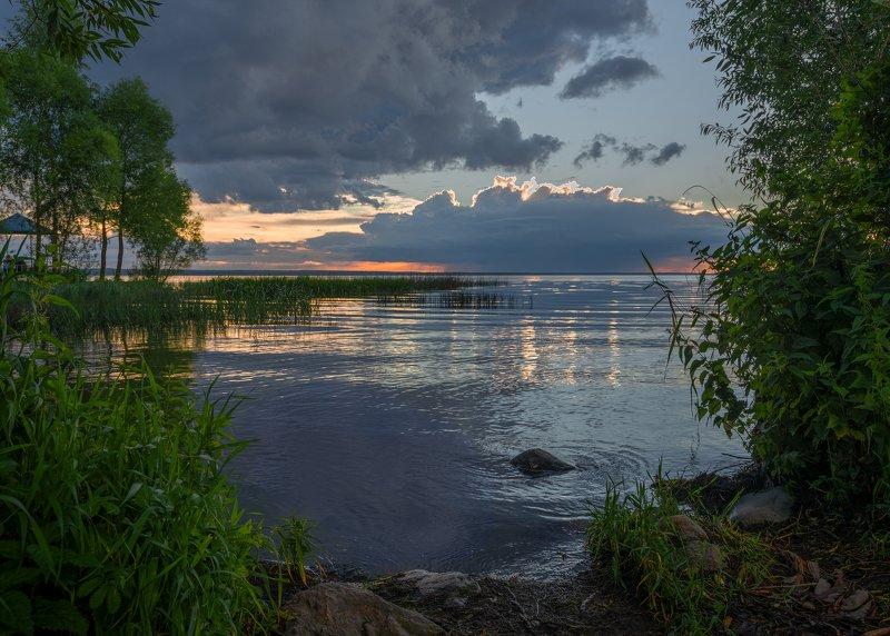 Вечер на Плещеевом озереphoto preview