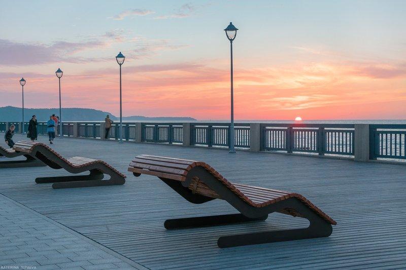 закат, светлогорск, балтийское море Вечер ушедшего летаphoto preview