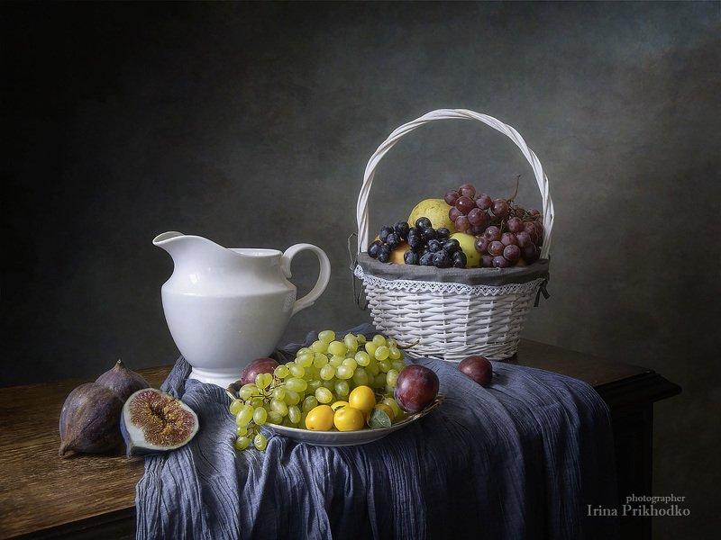 натюрморт, лето, фрукты, художественное фото Натюрморт с фруктамиphoto preview