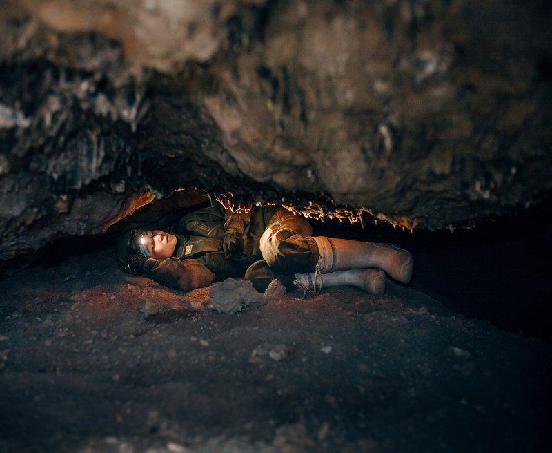Ира - гламурный спелеологphoto preview