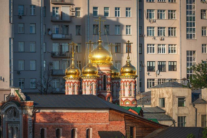 церковь;, город; Церковь Николы Чудотворца на Берсеневке, в верхних Садовникахphoto preview
