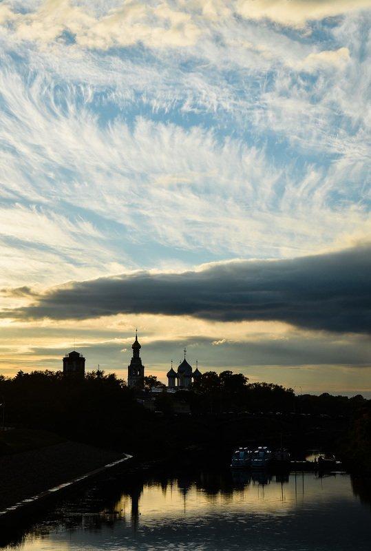 город, архитектура, вологда, вечер, фотография Вологда.photo preview