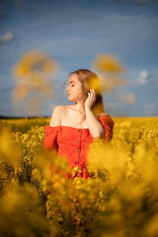 summer, portrait, girl, sun, berlin, germany, canon, лето, девушка, модель, model Sunnyphoto preview