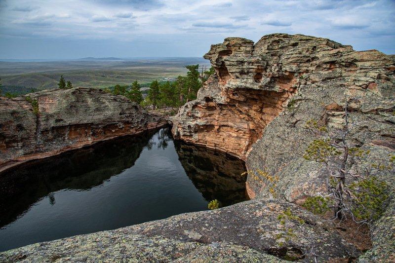 горы Малые озёра Каркаралинска.photo preview