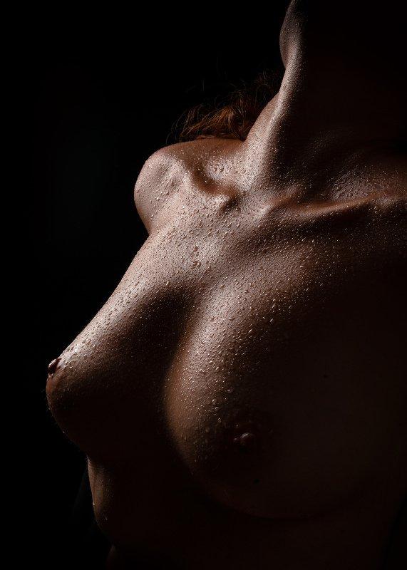 ню, эротика, портрет, девушка, жанровый портрет, естественный свет, nu, nu-art, nude, грудь, топлесс, модель, обнаженная, женственность, ч/б photo preview