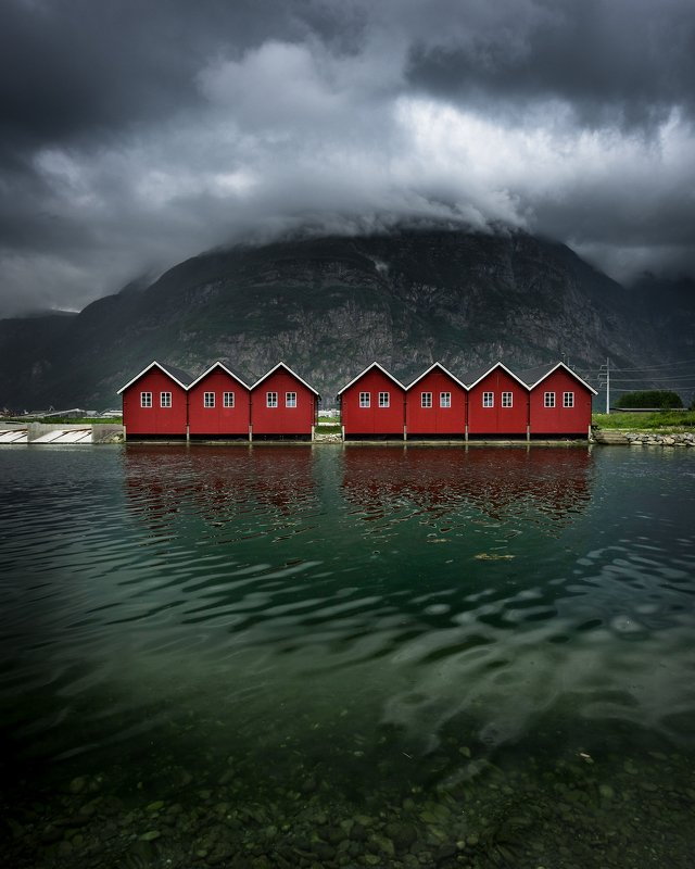 norway,landscape,cabin,mountains sunndalsøraphoto preview