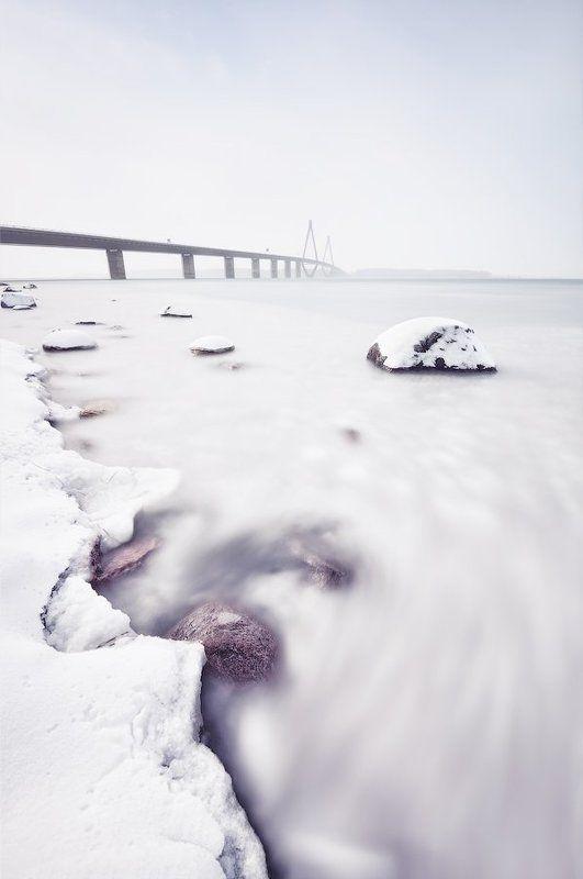 длинная выдержка, дания, мост Облачные Водыphoto preview