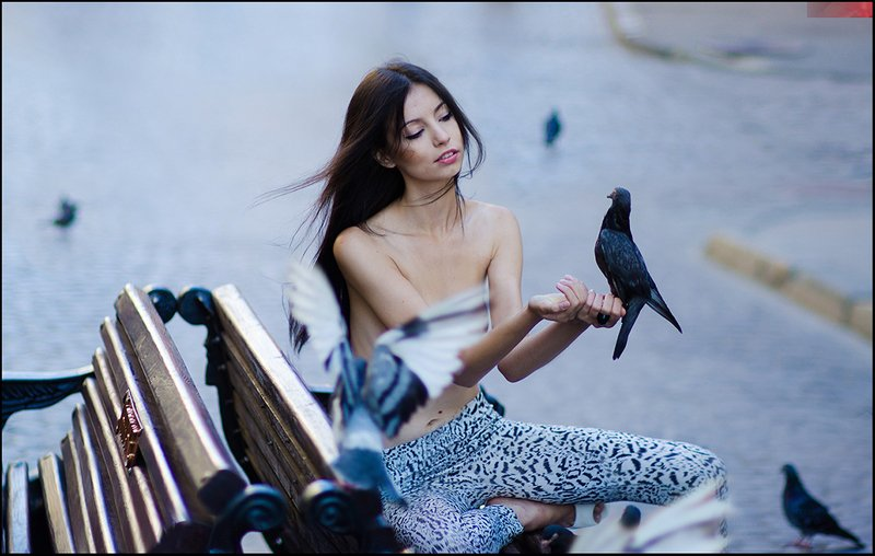 Любовь и голуби ©photo preview
