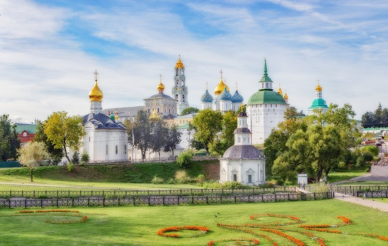 лавра, сергиев посад, храм, церковь Свято-Троицкая Сергиева лавраphoto preview