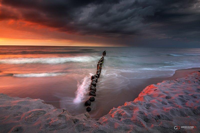 sea baltic sunset Magic sunsetphoto preview
