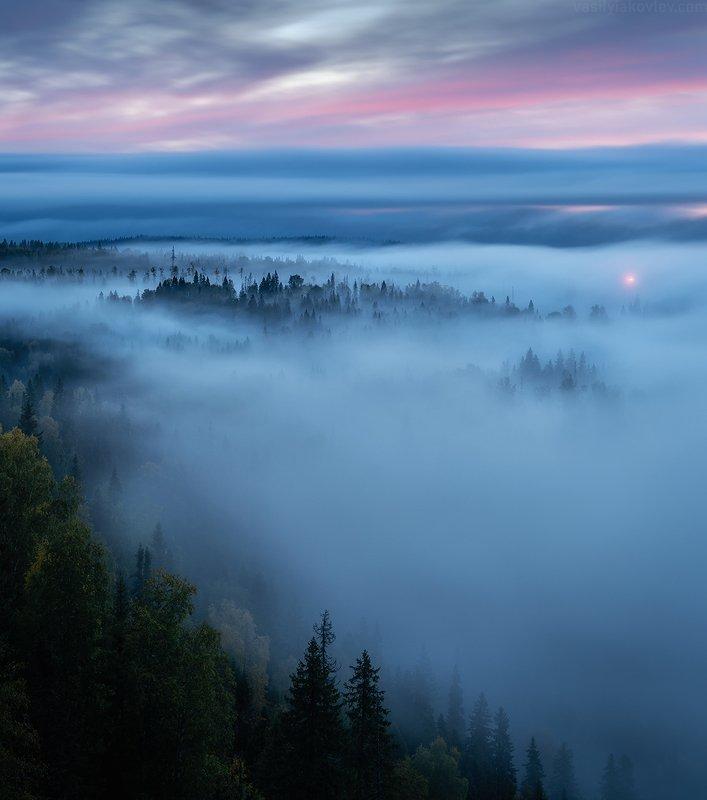 екатеринбург, яковлевфототур, фототур, василийяковлев, урал Туманное утро на реке Усьваphoto preview