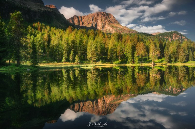 reflection, reflections, mountain, mountains, lake, mirror, sunrise, morning, light, contrast, europe, mountainscape, Perfect reflefctionphoto preview