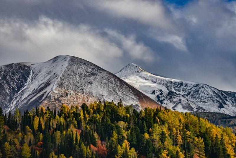 горы Осень на рудном Алтае.photo preview