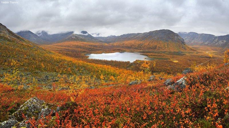 кольский, север, заполярье, хибины, малый вудьявр Осень на малом Вудьявреphoto preview