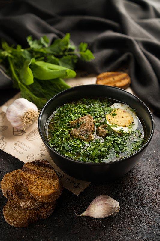 фудфото, фудфотография, foodphotography, суп, еда Зеленый борщphoto preview