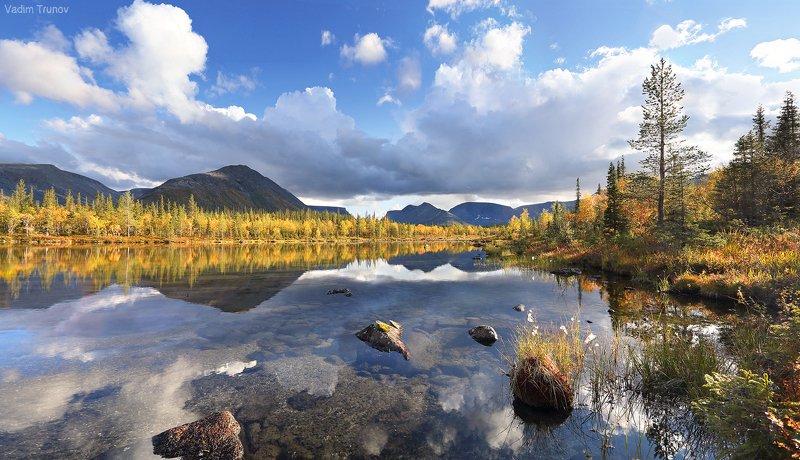 кольский, север, заполярье, хибины Лесное озероphoto preview