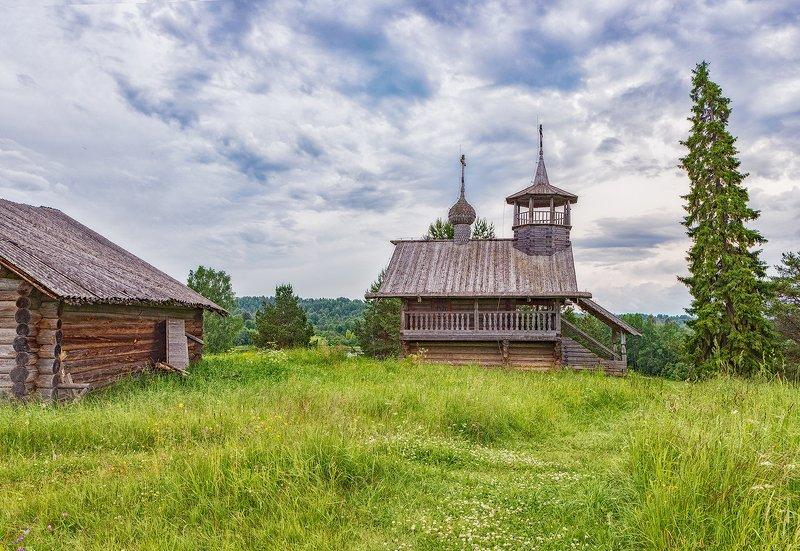 кенозерье, деревня, часовня Кенозерьеphoto preview
