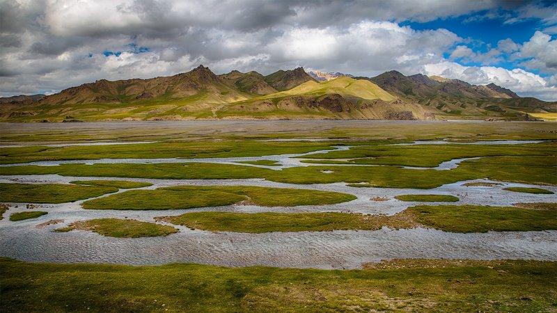 кыргызстан, горы Лето Кок-Кыяphoto preview