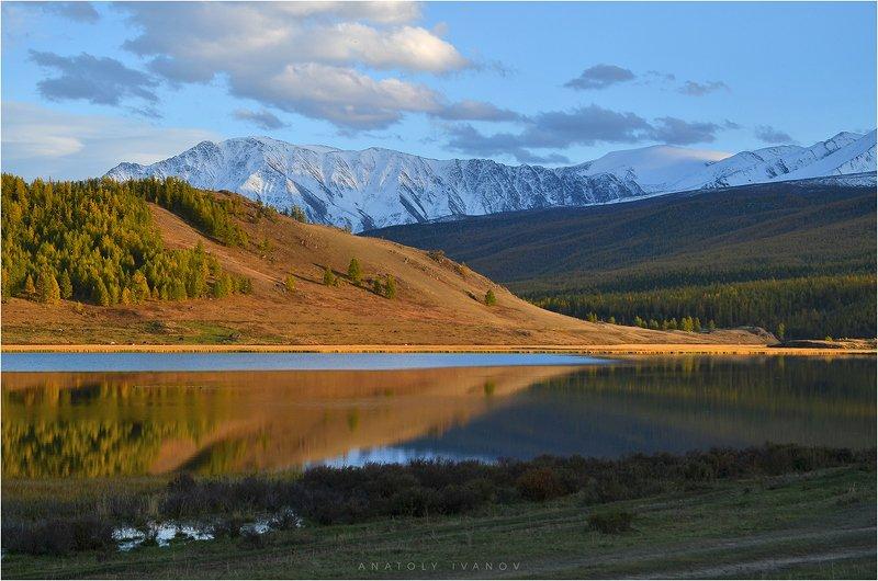 республика алтай, урочище ештыкёль, озеро джангысколь, северо-чуйский хребет photo preview