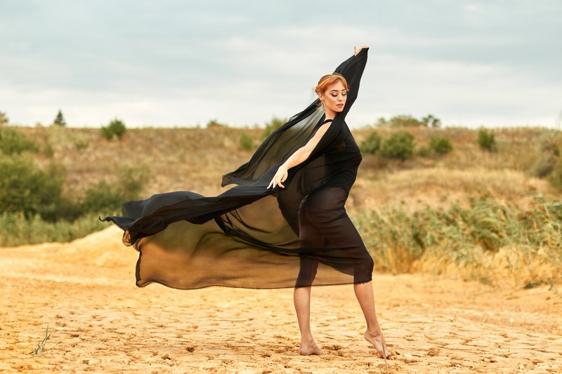 Ветреная балеринаphoto preview