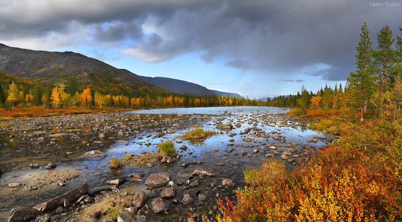 кольский, север, заполярье, хибины Осень за полярным кругомphoto preview