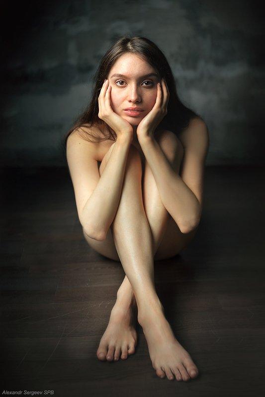 девушка,обнажённая,красота,нежность,гармония,настроение Обнажённый портретphoto preview