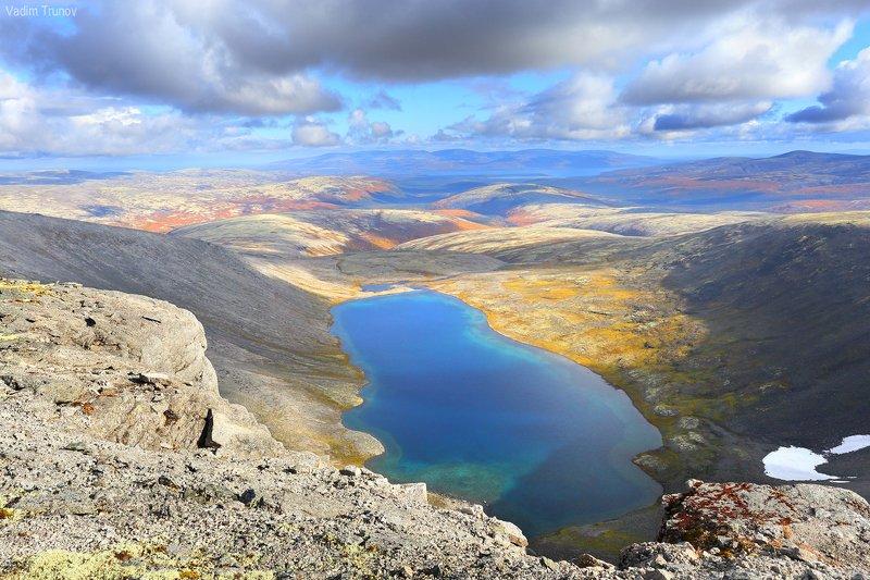 кольский, север, заполярье, хибины, академическое озеро Озеро Академическоеphoto preview