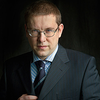 Portrait of a photographer (avatar) kisandr